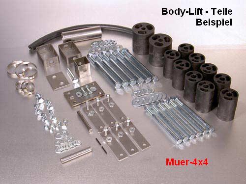 Body Lift Kits For Suzuki Samurai